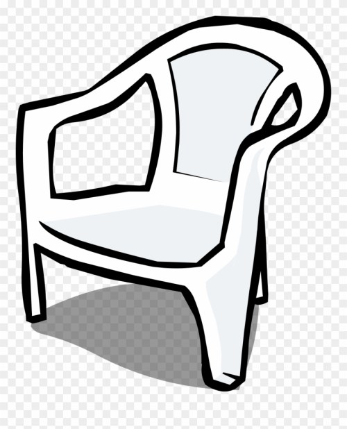 small resolution of furniture clipart almira plastic chair clipart black and white png download