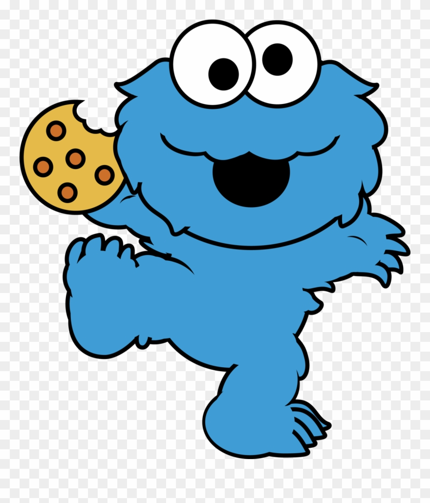 hight resolution of eating cookies cliparts cute cookie monster cartoon png download