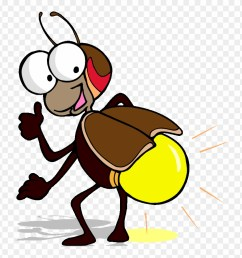 funny flying bee lightning bug clipart png download [ 880 x 911 Pixel ]