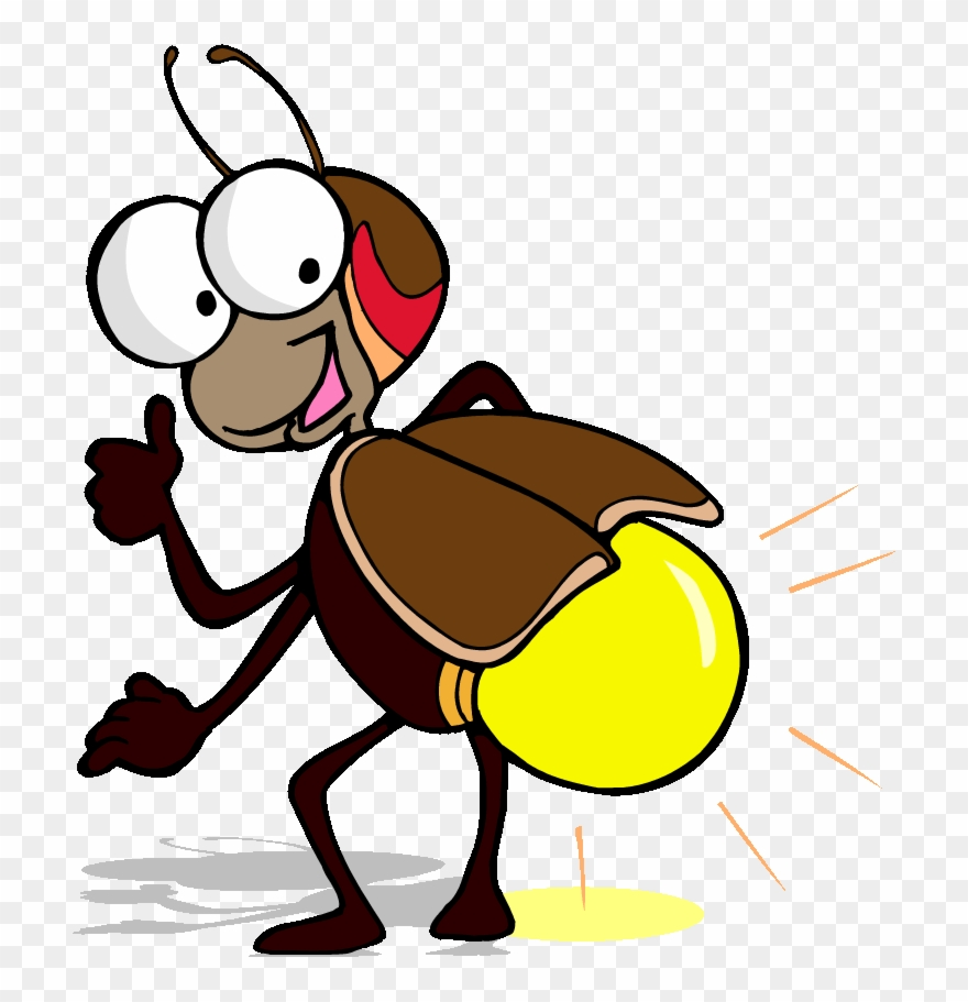 hight resolution of funny flying bee lightning bug clipart png download
