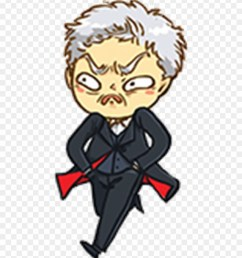 doctor who clipart chibi cartoon png download [ 880 x 1037 Pixel ]