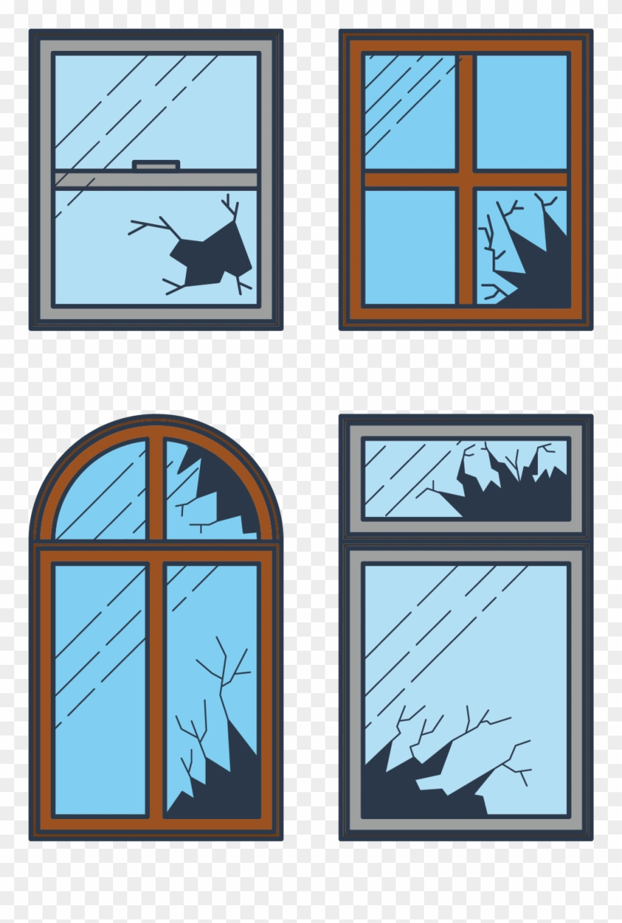 hight resolution of broken window clip art draw a broken window clipart png download