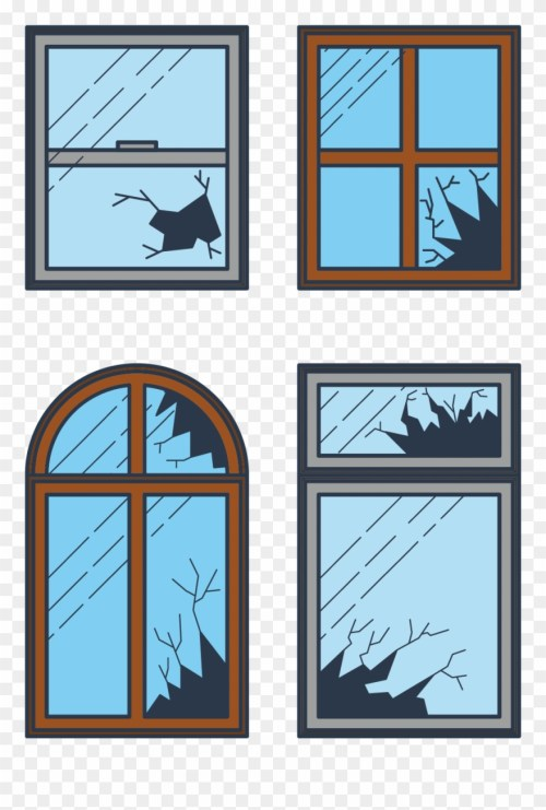 small resolution of broken window clip art draw a broken window clipart png download