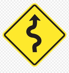 show answer winding road sign png clipart [ 880 x 920 Pixel ]