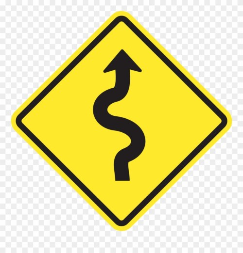 small resolution of show answer winding road sign png clipart