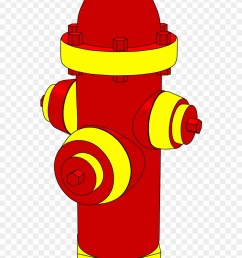 clear a path from the hydrant into the street fire hydrant clipart png download [ 880 x 1361 Pixel ]