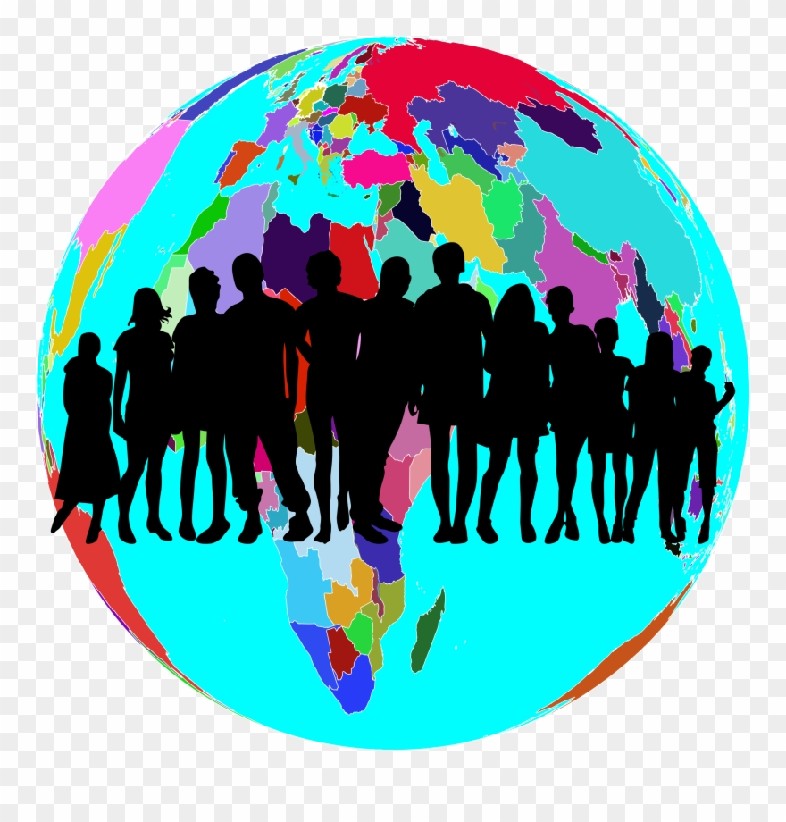 hight resolution of clipart world human png download