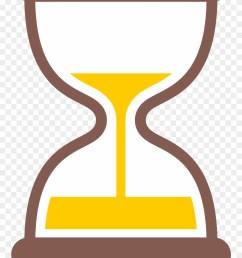 hourglass clipart yellow hourglass timer emoji png download [ 880 x 1262 Pixel ]
