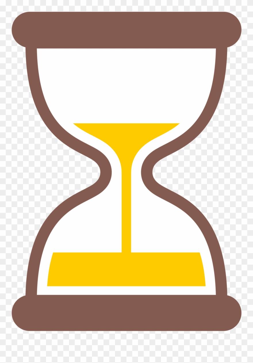 medium resolution of hourglass clipart yellow hourglass timer emoji png download