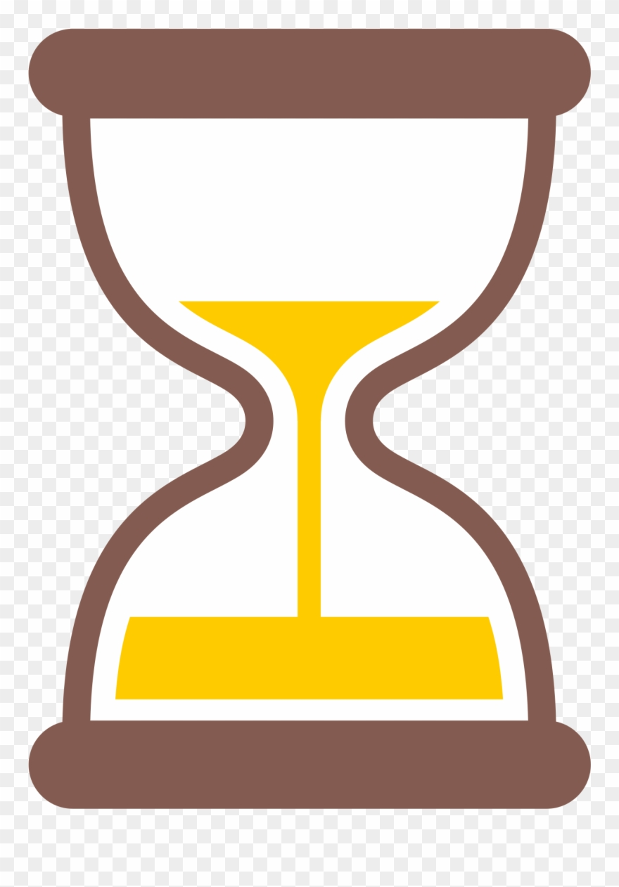 hight resolution of hourglass clipart yellow hourglass timer emoji png download
