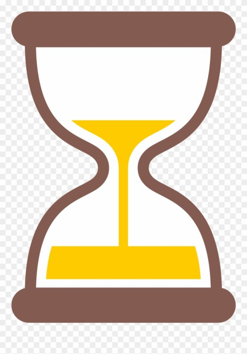 small resolution of hourglass clipart yellow hourglass timer emoji png download