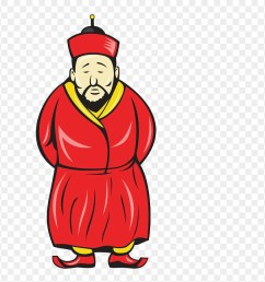 old chinese man clipart chinese man cartoon png download [ 880 x 903 Pixel ]