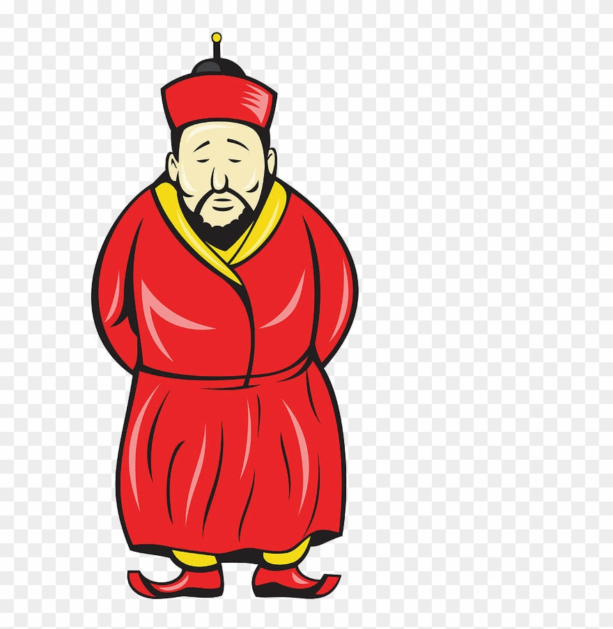 hight resolution of old chinese man clipart chinese man cartoon png download
