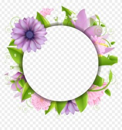 flower border png download flowers borders free photo vector png border flower clipart [ 880 x 920 Pixel ]