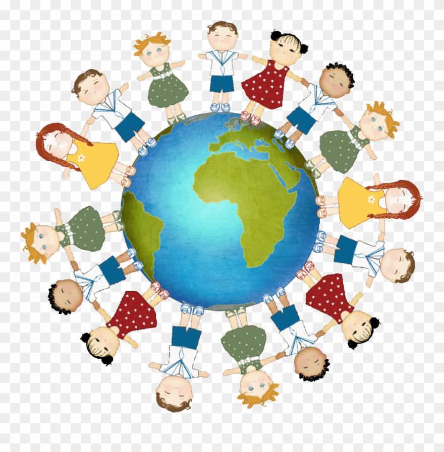 medium resolution of kids holding hands around the world clipart