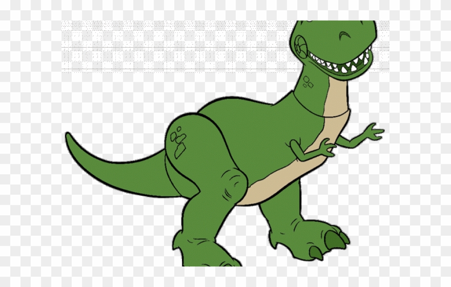 Tyrannosaurus Rex Clipart Silhouette Toy Story Dinosaur Cartoon Png Download 1358655 Pinclipart