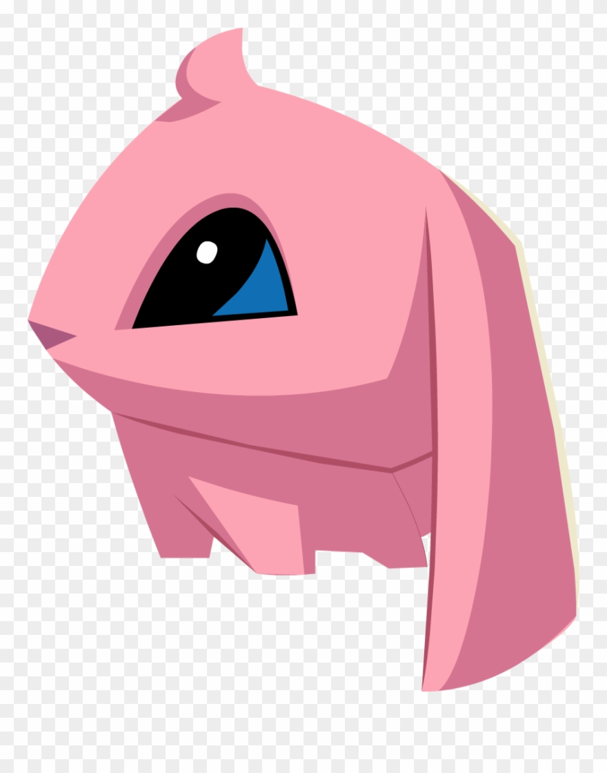 hight resolution of pink bunny graphic animal jam pink bunny clipart