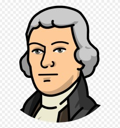 animated clipart thomas jefferson cartoon png download 140301 [ 880 x 927 Pixel ]