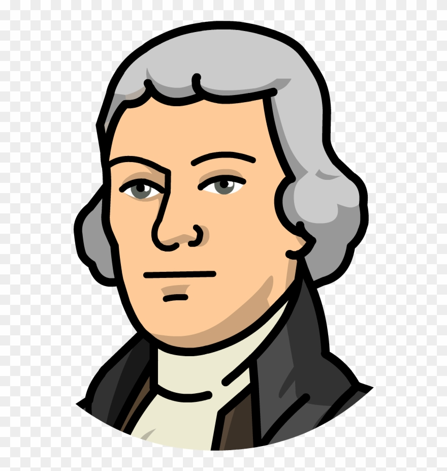hight resolution of  animated clipart thomas jefferson cartoon png download 140301