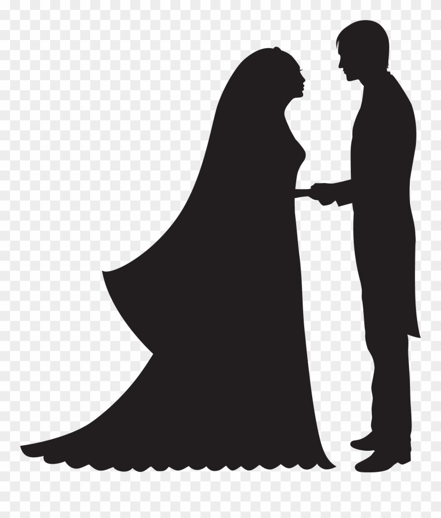 hight resolution of bride and groom png clip art transparent png