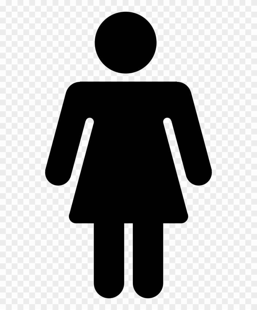 Png File Female Toilet Signs Clip Art Transparent Png 1400898 Pinclipart