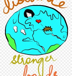ld distance stronger long distance relationship clipart free download [ 880 x 1293 Pixel ]