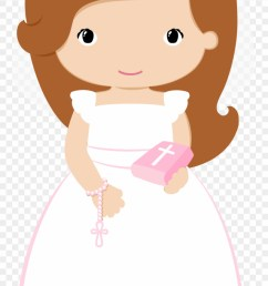 clip art baptism cookies baby christening first first communion girl clipart  [ 880 x 1616 Pixel ]