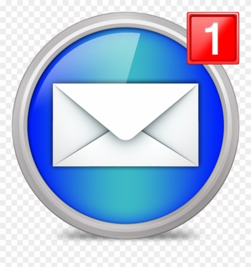 small resolution of new email interface symbol of closed envelope back notification email icon png clipart