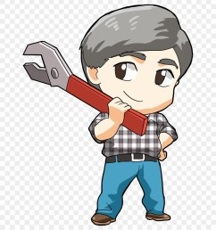 janitor clipart community helper cartoon png download [ 880 x 984 Pixel ]
