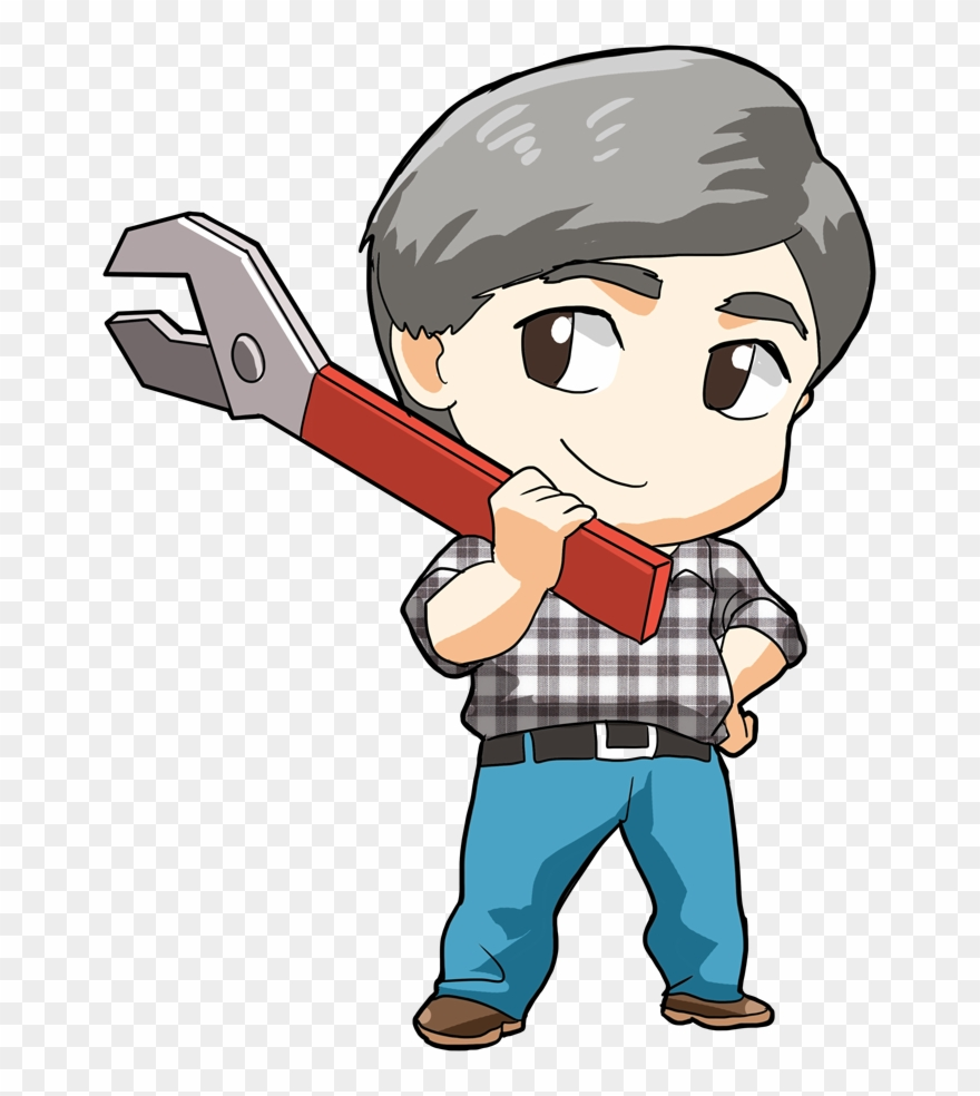 hight resolution of janitor clipart community helper cartoon png download