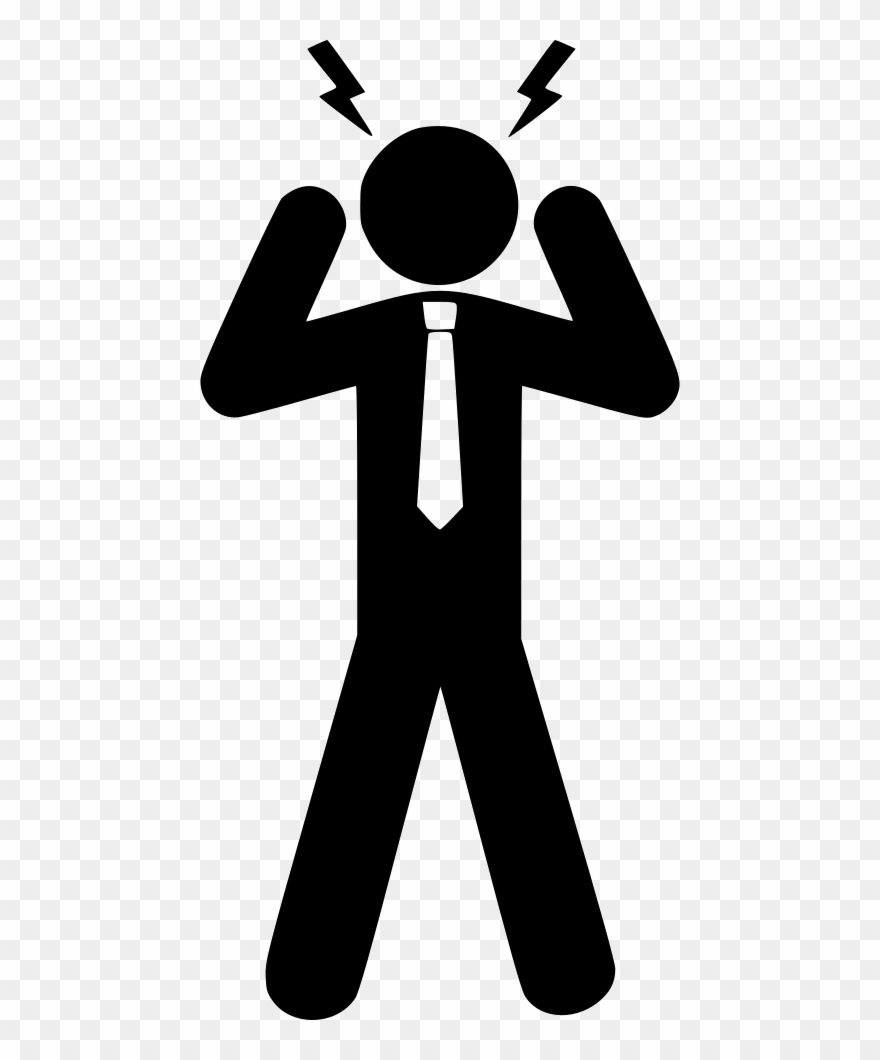 hight resolution of svg download conflict clipart stress person stress png transparent png