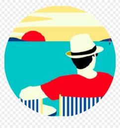 discovery ticket illustration beach malika favre clipart [ 880 x 920 Pixel ]