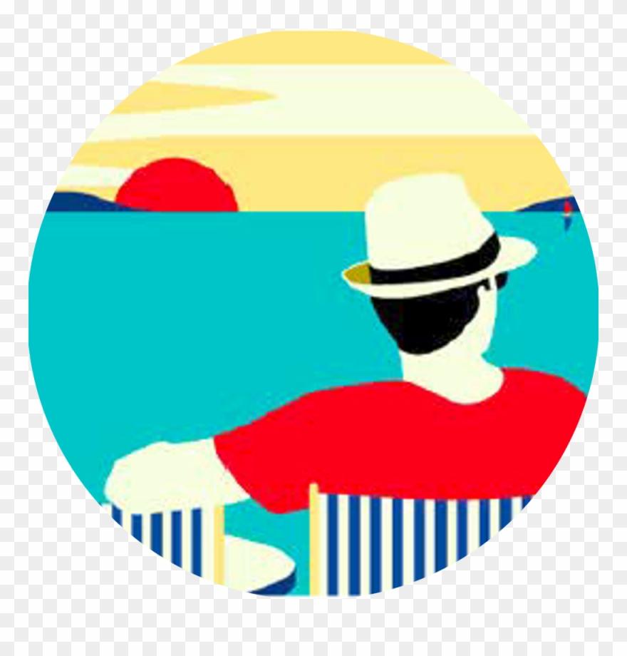 hight resolution of discovery ticket illustration beach malika favre clipart