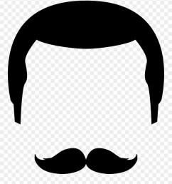 moustache clipart svg moustache icon png transparent png [ 880 x 1013 Pixel ]