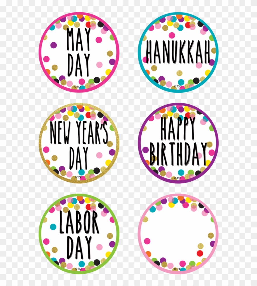 medium resolution of tcr8763 confetti holidays and special events calendar circle clipart