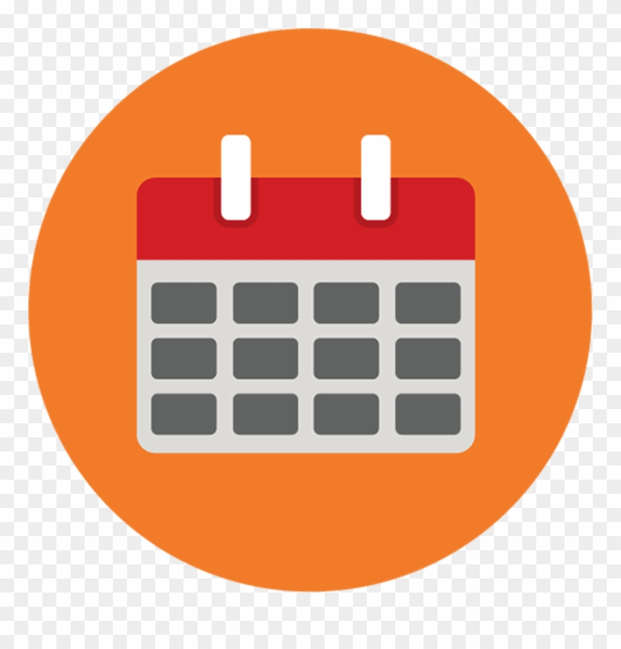 hight resolution of calendar calendar icon png round clipart