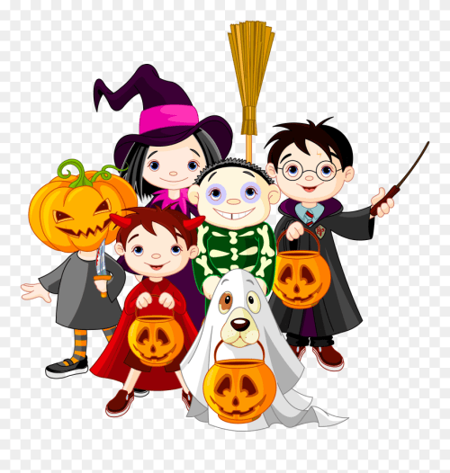 small resolution of spooky clipart october halloween costume cartoon png download