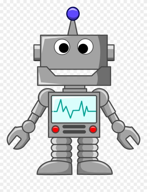 small resolution of clipart robot clipart png download