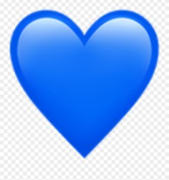 blue heart emoji art photography decoration bynisha blue heart emoji transparent background clipart [ 880 x 950 Pixel ]