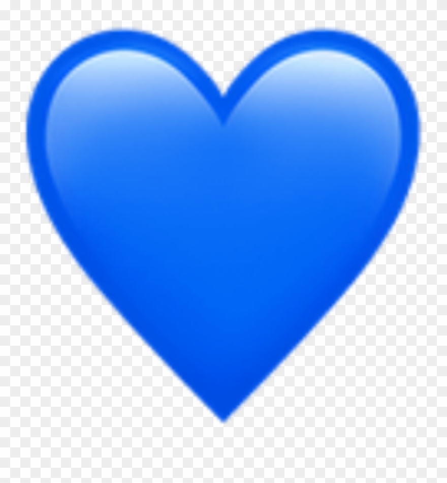 medium resolution of blue heart emoji art photography decoration bynisha blue heart emoji transparent background clipart