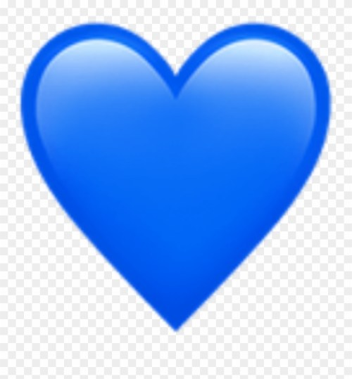 small resolution of blue heart emoji art photography decoration bynisha blue heart emoji transparent background clipart