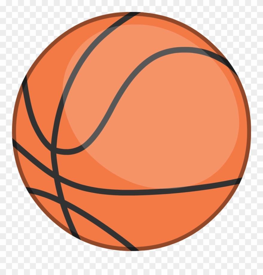 medium resolution of a boring basketball body bfb orange basketball clipart