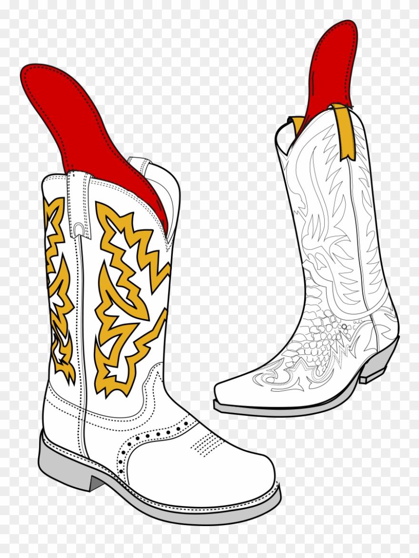 medium resolution of insole repair cowboy boot clipart