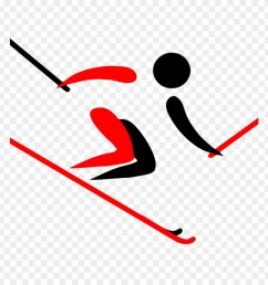 alpine skiing clipart pyeongchang 2018 olympic winter skier clipart png download [ 880 x 920 Pixel ]