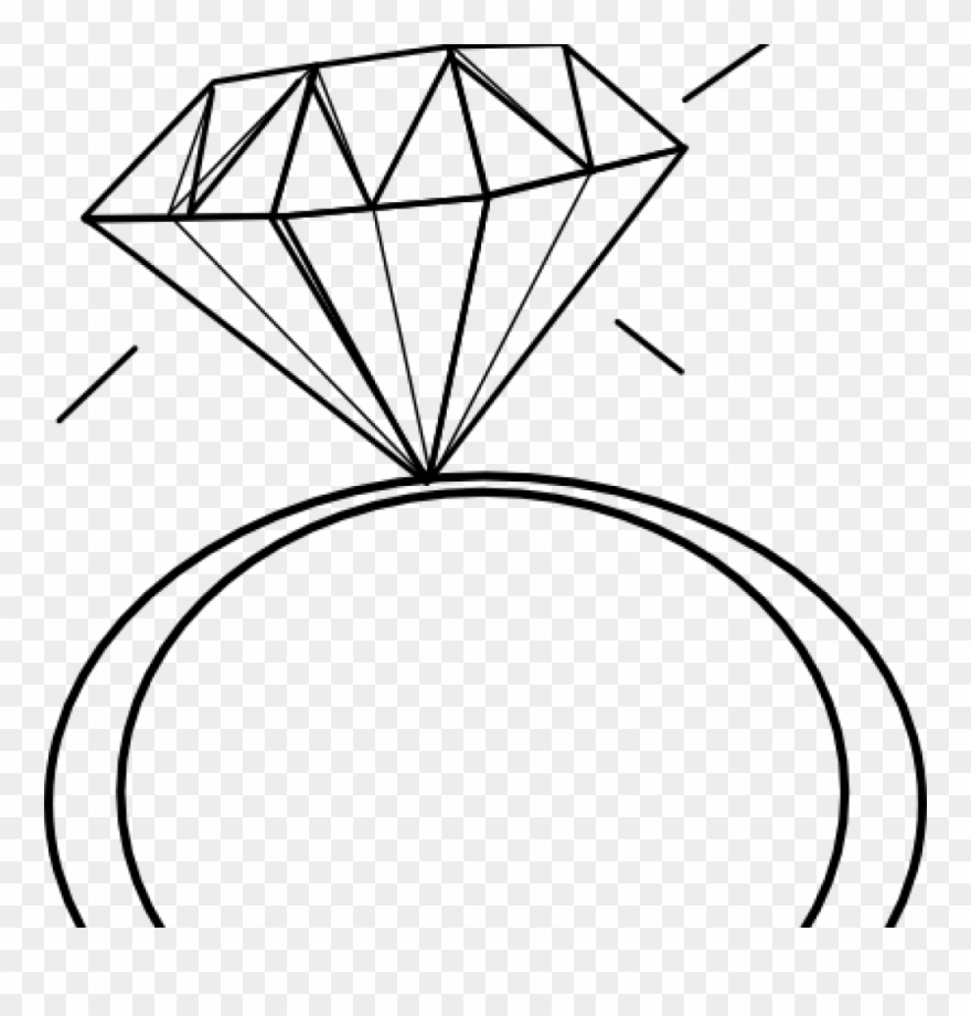 hight resolution of engagement ring clipart black and white panda free diamond ring clip art png download