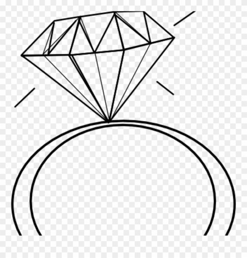 small resolution of engagement ring clipart black and white panda free diamond ring clip art png download