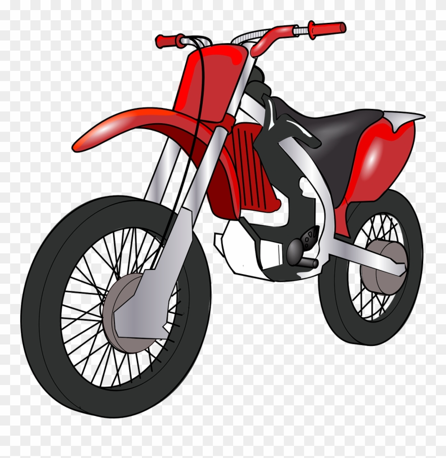 hight resolution of cartoon motorbike clipart