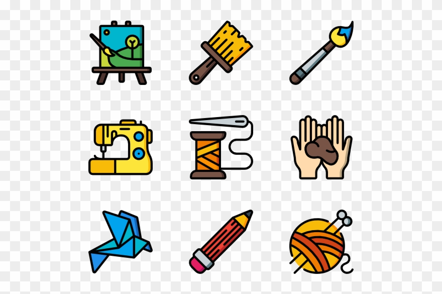 Arts And Crafts Electric Vector Icon Png Clipart 1716906 Pinclipart