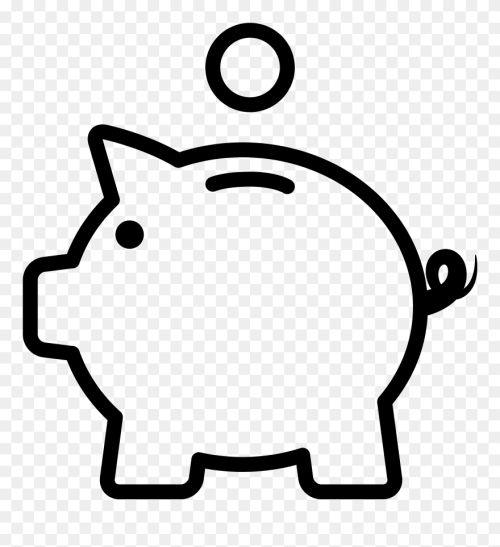 small resolution of piggy bank png piggy bank easy drawing clipart