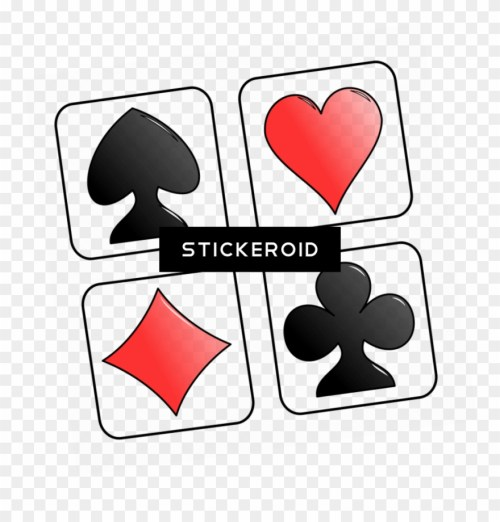 small resolution of playing card symbols clip art cards deck of cards clip art png download